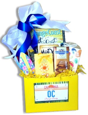 Orange County California Gift Basket